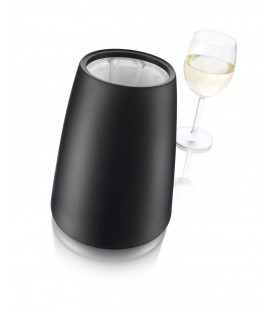 Wine Bottle Chiller Elegant Black